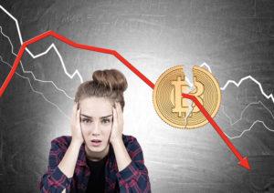 Причины падения курса цифровых валют